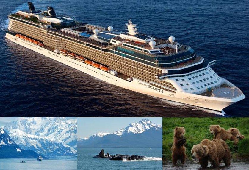 11 วันล่องเรือสำราญอลาสก้า ปี 2020 CELEBRITY ECLIPSE