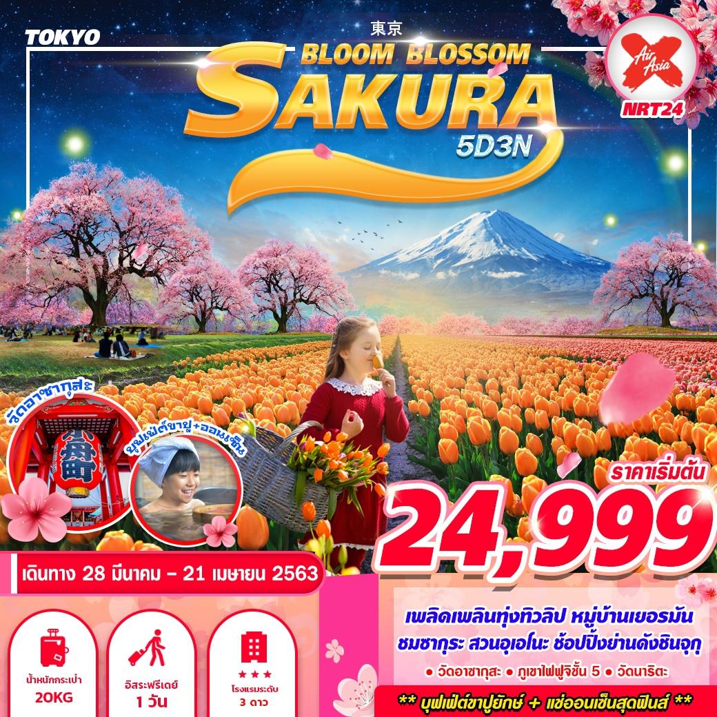 ทัวร์ญี่ปุ่น TOKYO BLOOM BLOSSOM 5D3N