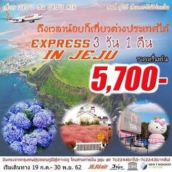 EXPRESS JEJU IN SUMMER 3D1N